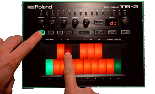 TB-3 how transpose pattern